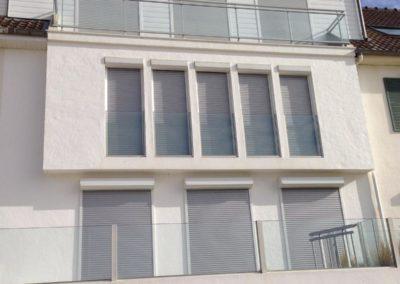 Création d'un balcon au 2 ème étage avec transformation de fenêtre en porte fenêtre et bardage PVC -Fort-Mahon-Plage