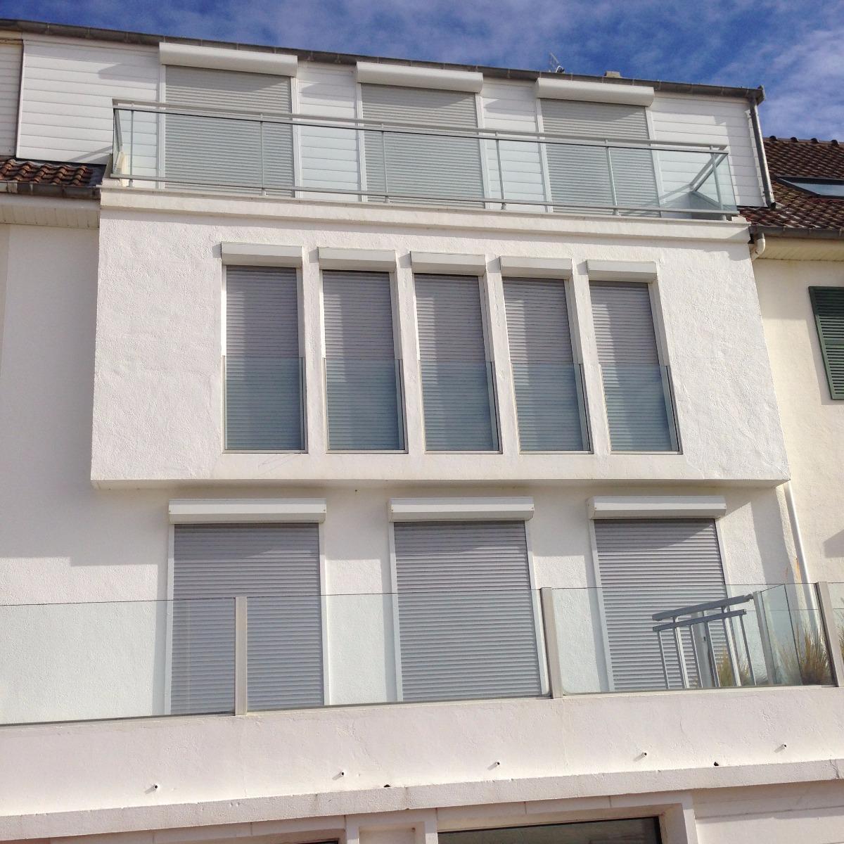 Création d'un balcon au 2 ème étage-Fort-Mahon-Plage