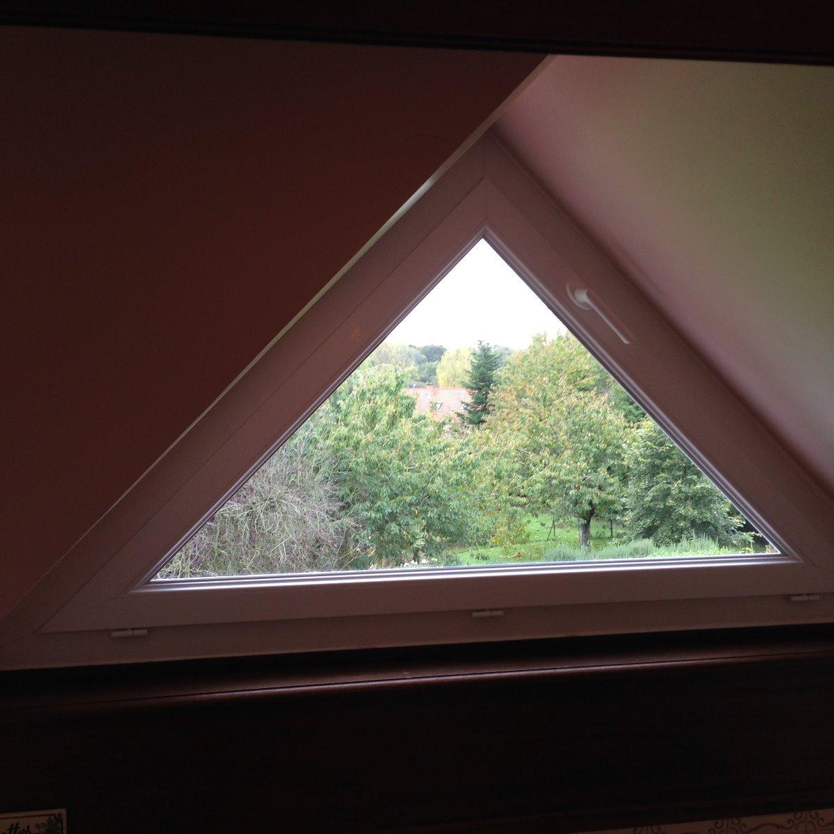 Fenêtre en PVC houteau 1 vantail ouvrant-basculant - RUE - 80