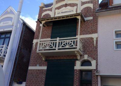 Rénovation de façade en briques, sablage, rejointoiement et hydrofuge- FORT MAHON PLAGE – 80