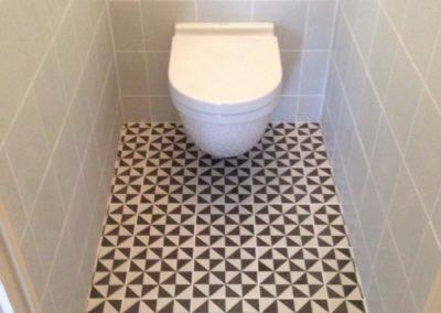 Faïence et carrelage dans WC -FORT-MAHON-PLAGE-80